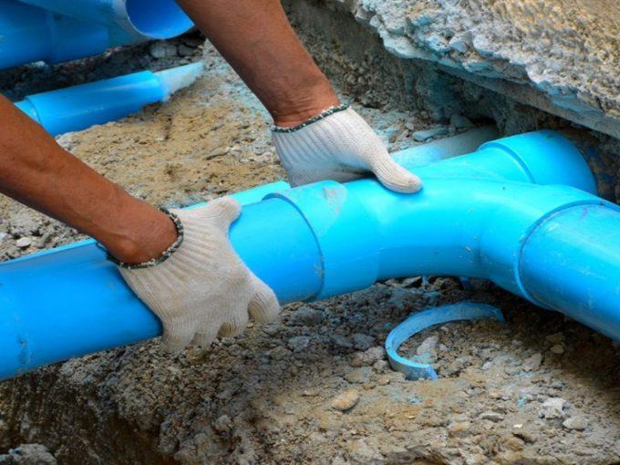 projekt vodovodni pripojky